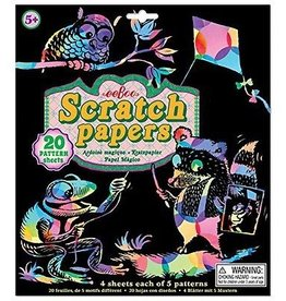 Eeboo Scratch Papers (20 Sheets)