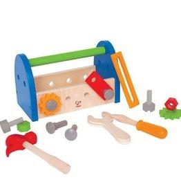 Hape Coffre à outils  de bois<br />My First Fix It Toolbox<br />My First Fix It Toolbox<br />Fix and Tool Box