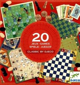 Djeco 20 Classics Games