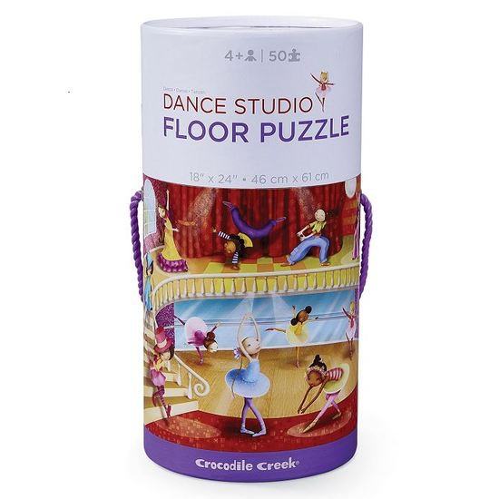 Crocodile Creek Puzzle Dance Studio 50 pcs