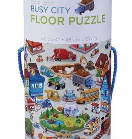 Crocodile Creek Busy City Floor Puzzle 50 pcs