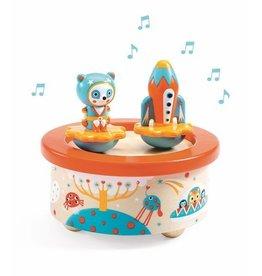 Djeco Boîte à musique Space Melody