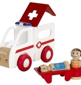 Brio Ambulance son et lumière avec accessoires Light and sound
