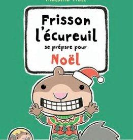 Livre Frisson se prépare pour Noël