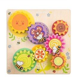 Le Toy Van Engrenages Abeilles et fleurs