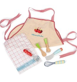 Le Toy Van Honeybake Apron and ustensil set Le Toy Van