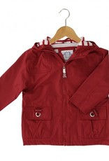 Armor Lux Red Impermeable Coat 3 yrs