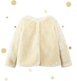 Vêtements Doux manteau doré taille 8 ans