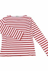 Armor Lux White and Red Sailor Sweater - 12 yrs