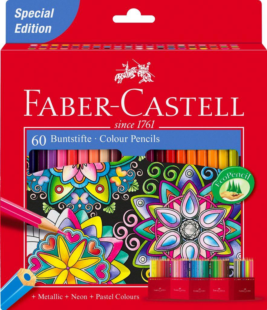 Faber-Castell Boîte de crayons de couleurs - Édition Spéciale