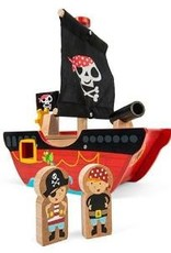Le Toy Van Petit bateau de pirates