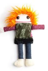 Fait au Québec Mathilde rag doll Handmade in Quebec