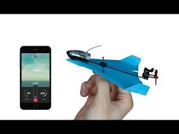 Power Up Dart Power Up Dart - Système pour avion de papier (bleu)