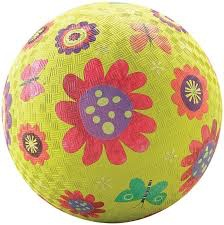 Crocodile Creek Flower Garden Green Playball 7''