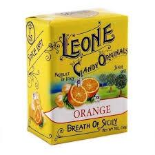 Bonbons bonbons à l'orange