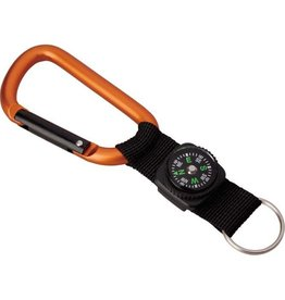 Gadgets Carabiner with compass strap