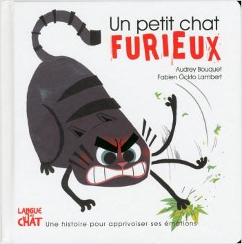 Livre Un petit chat furieux