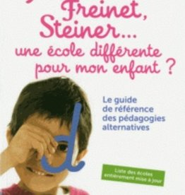 Livre Gude de référence des pédagogies alternatives
