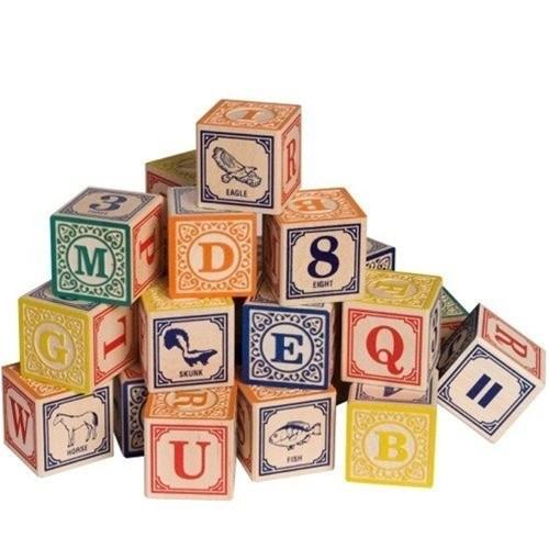 Uncle Goose Classic ABC Blocks (English)