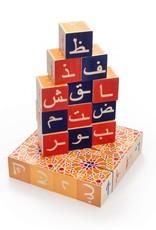 Uncle Goose Blocs de bois en arabe