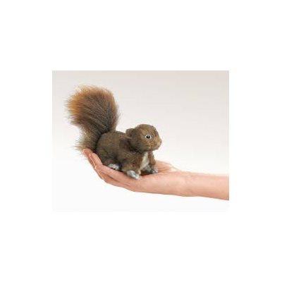 Folksmanis Mini marionnette écureuil
