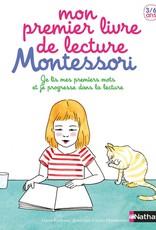 Livre Mon premier livre de lecture montessori
