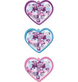 Accessoires Coeur contenant de petites éffaces