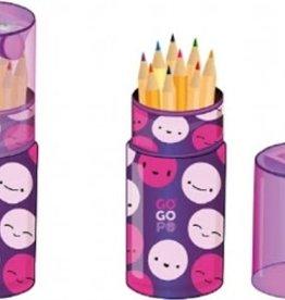 Accessoires Crayons de couleur avec taille-crayon