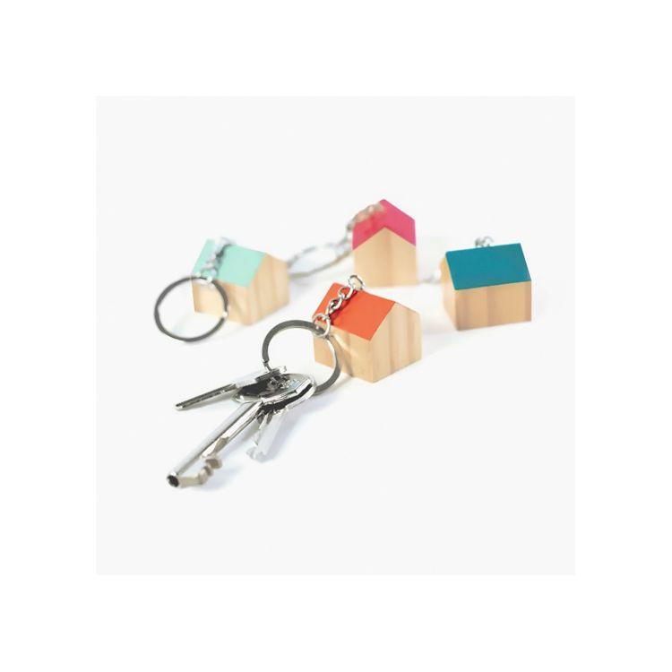 Gadgets porte-clé en bois