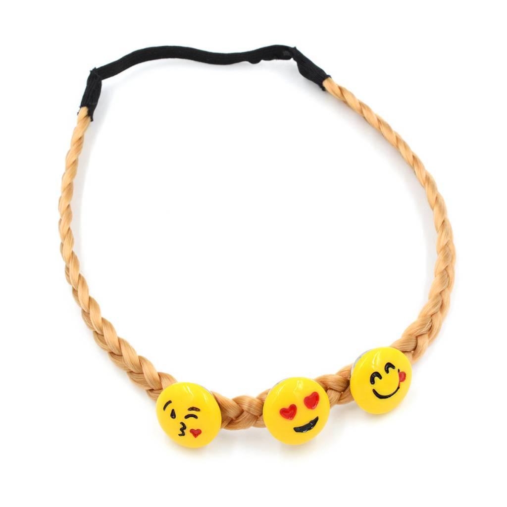 hair accessories | headband |blonde | braided
