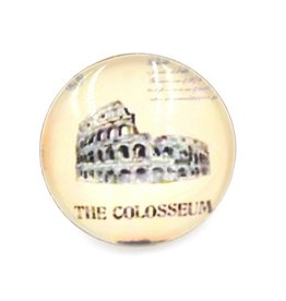 Snap Button Jewels® | glass canvas art | grey | coloseum