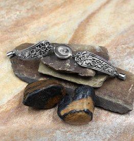 bracelet | silver | vintage magnetic close | 1 Snap