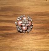 Snap Button Jewels™ | rhinestones | pink | popcorn bling