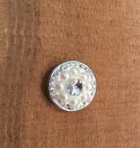 Snap Button Jewels™   rhinestone   white   pearl and rhinestones