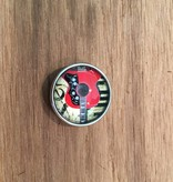 Snap Button Jewels® | Fashion | Red | Guitar