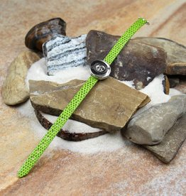 bracelet | green | croc leather | 1 Snap