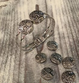 Snap Button Jewels® | Fashion | silver | Tree of Life