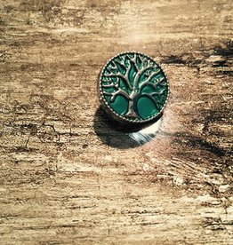 Snap Button Jewels™   Fun   Green   Tree of Life