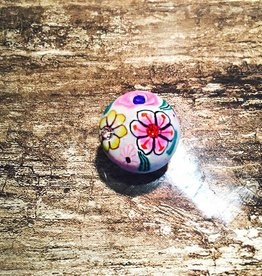 Snap Button Jewels™   Fun   Multi Color   Hand Drawn Flower Garden