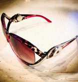 Sunglasses | Hot Pink Leopard and Silver | 1 Snap