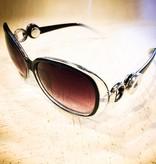 Sunglasses | Black | Clear White | Snap