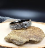 bracelet   brown   rhinestone with magnetic closure   1 Snap