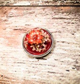 Snap Button Jewels™ | orange | 3D flower