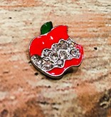 Snap Button Jewels® | Fashion | Red | Apple Bite Bling
