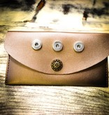 wallet | silver | 3 snaps