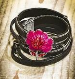 Snap Button Jewels™   Pink   Big Rhinestones Center