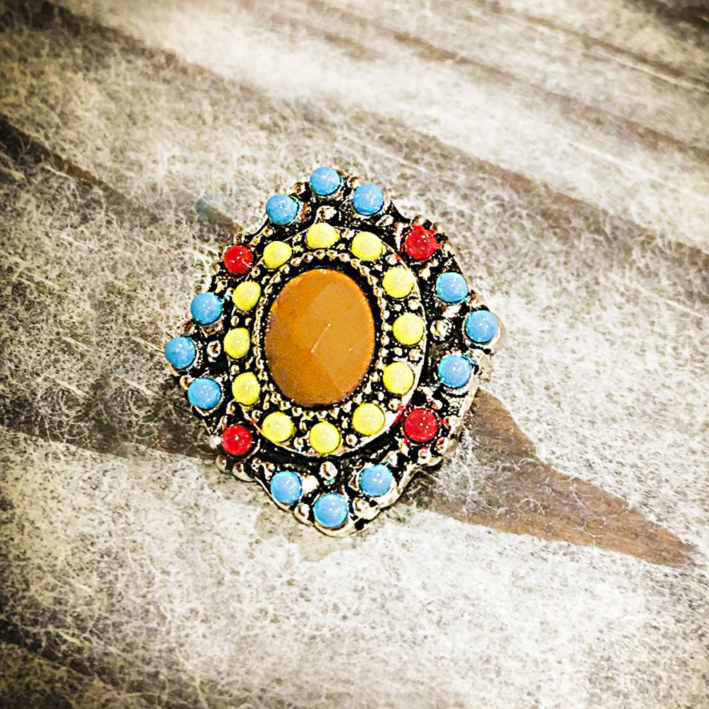 Snap Button Jewels™ | Fashion | Multi Color | Natural Stone