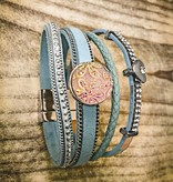 Snap Button Jewels™ | Fashion| white | daisy imprint