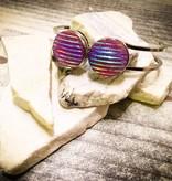 Snap Button Jewels™   Fashion   Purple   Sparkling Lines