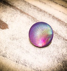 Snap Button Jewels™ | Fashion | Purple | Iridescent Shell